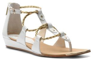 Isola Audora Leather Wedge Sandals