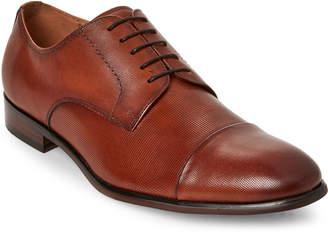 Steve Madden Tan Preston Textured Dress Shoes