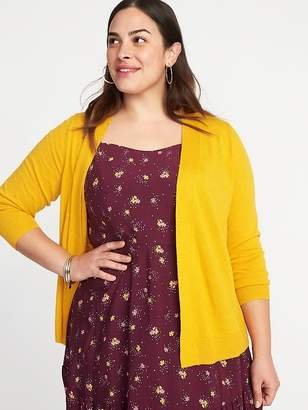 Old Navy Short Open-Front Plus-Size Sweater