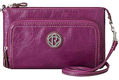 JCPenney Relic® Heather Double-Zip Crossbody Bag