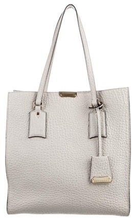 Burberry  Burberry Grained Leather Tote