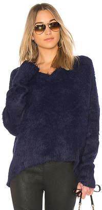 Frankie Oversized Varsity Sweater