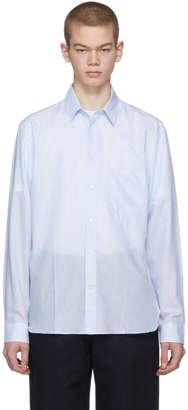 Acne Studios Blue York Stripe Shirt