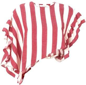 Marques Almeida Marques'almeida striped cropped top