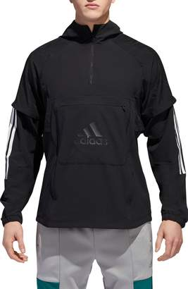 adidas ID Hooded Quarter Zip Jacket