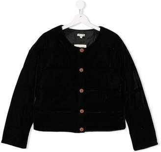 Kenzo buttoned velvet jacket
