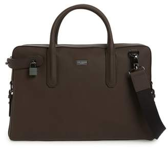Ted Baker Ozboz Leather Briefcase