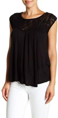 Lucky Brand Crochet Top