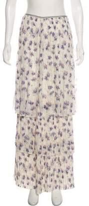 1f9c723a41 White Silk Maxi Skirt - ShopStyle