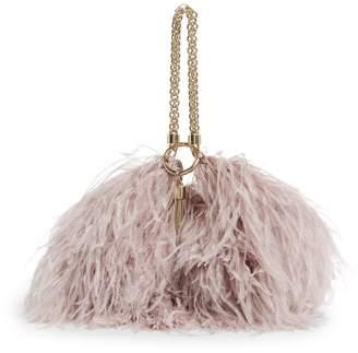 Jimmy Choo Suede Callie Clutch Bag