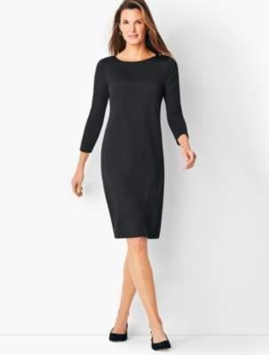 Talbots Knit Jersey Shift Dress - Solid