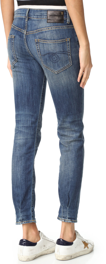 R 13 Relaxed Skinny Jeans