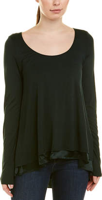 Heather H By Bordeaux Layered Swing Top