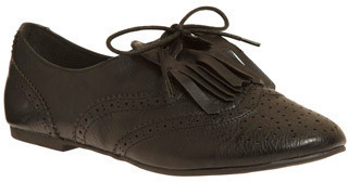 Gentlewoman Chic Flat in Ebony