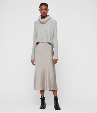 AllSaints Tierny Roll Neck Dress