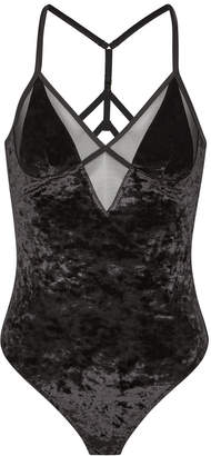 Sam Edelman Velvet Bodysuit