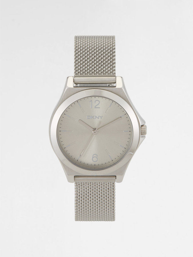 DKNYWestside Two Tone Bracelet Watch