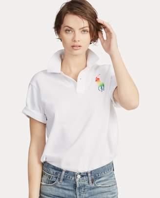 Ralph Lauren Pride Big Shirt Cotton Polo