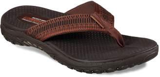 Skechers Relaxed Fit Reggae Belano Men's Flip Flop Sandals