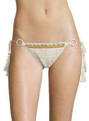 Anna Kosturova Swim Savannah Crochet Bikini Bottom