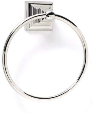 Amerock Markham Polished Nickel Towel Ring