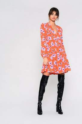 Glamorous **Floral Skater Dress by Tall