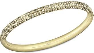 Swarovski Crystal Stone Mini Gold Bangle, M