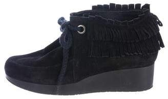 Robert Clergerie Naim Suede Ankle Boots