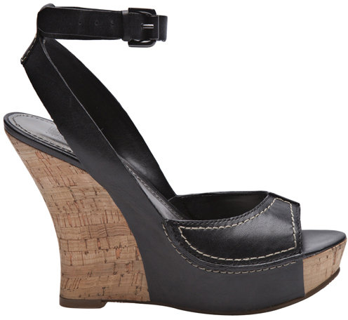 Belle by Sigerson Morrison Balena Wedge In Black