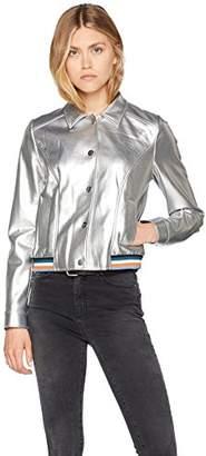 BOSS Casual Women's Ometty Jacket (Silver 040), (Manufacturer Size: 38)