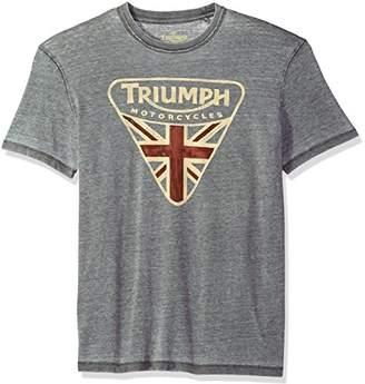 Lucky Brand Men's Triumph Badge Graphic TEE