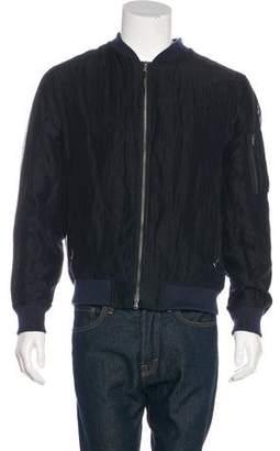Vince Woven Bomber Jacket