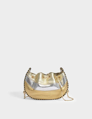 Marc Jacobs Sway Bag in Gold Foiled Lambskin