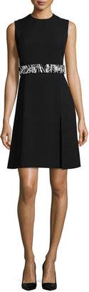 Jason Wu Sleeveless Dress W/Removable Belt, Black $1,955 thestylecure.com