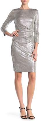 Vince Camuto Metallic Bodycon Dress