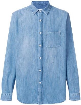 Closed relaxed fit shirt