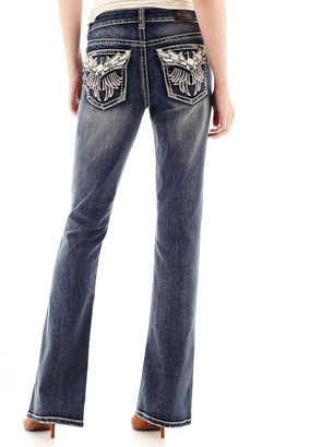 LOVE INDIGO Love Indigo Wing Back Flap Pocket Jeans $50 thestylecure.com