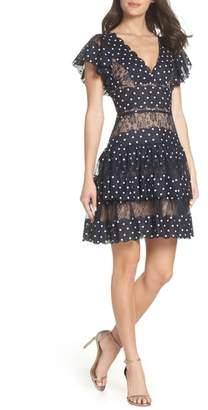 Bronx AND BANCO Battista Polka Dot Fit & Flare Dress