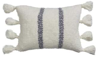 Barefoot Dreams R) CozyChic Vertical Stripe Tassel Accent Pillow