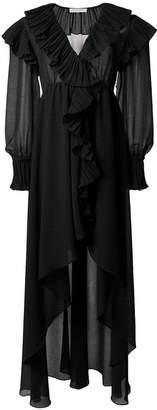 Philosophy di Lorenzo Serafini ruffle crepe dress