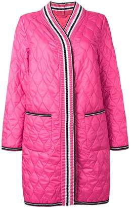 Ermanno Scervino quilted cardigan style coat