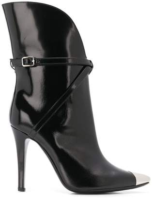 Philosophy di Lorenzo Serafini metallic toe-capped boots