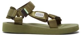 Suicoke Depa Cab Velcro Strap Sandals - Womens - Khaki