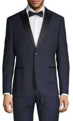Trim-Fit Peak Lapel Tuxedo Jacket
