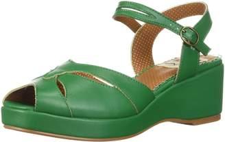 Bettie Page Women's BP242-NILEY Wedge Sandal