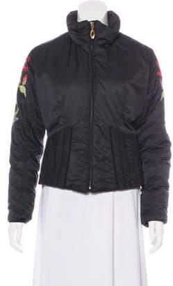 Obermeyer Long Sleeve Short Puffer Jacket