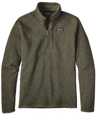 Patagonia Men's Better Sweater® 1/4-Zip Fleece