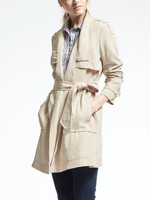 Drapey Trench $168 thestylecure.com
