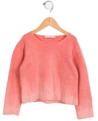 MonnaLisa Girls' Ombré Knit Sweater