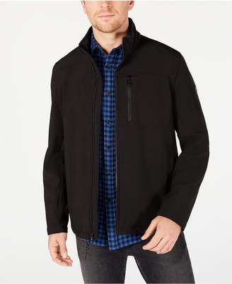 Calvin Klein Men Soft Shell Open Bottom Jacket